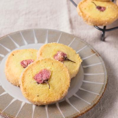 お花見に サクサク 桜クッキー