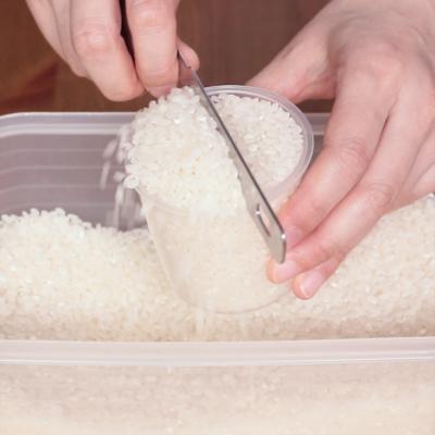 お米のはかり方