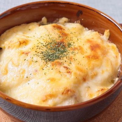 ブルーチーズのポテトグラタン