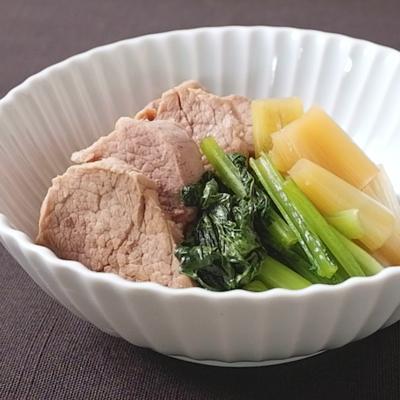 豚ヒレ肉の照り煮