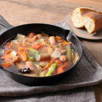 ごろごろ野菜のオイル煮