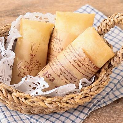 春巻きの皮で ベーコンポテトチーズパイ