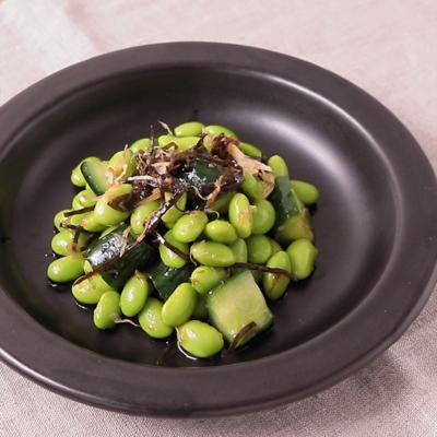 うま味たっぷり 枝豆の和風サラダ