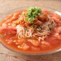 激辛トマトキムチ素麺