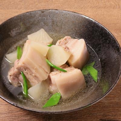 柚子胡椒香る 豚の角煮