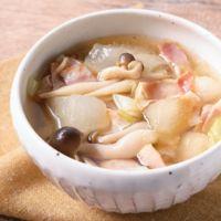 簡単 冬瓜とベーコンのコンソメスープ