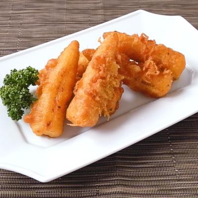 ヤングコーンのカレー天ぷら