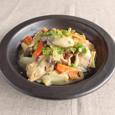 牡蠣のちゃんちゃん焼き