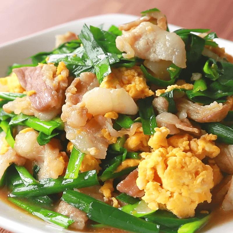 豚バラ肉のスタミナニラ玉炒め 作り方・レシピ