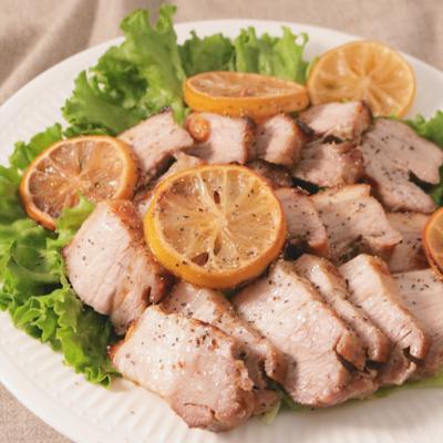 ハーブ香る 豚バラブロックの簡単オーブン焼き