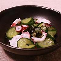 簡単副菜!タコときゅうりの酢の物
