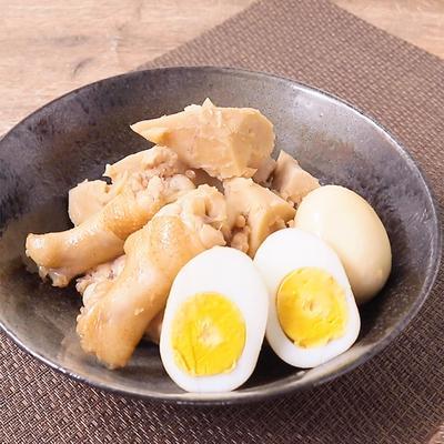 タロイモと手羽元の煮物