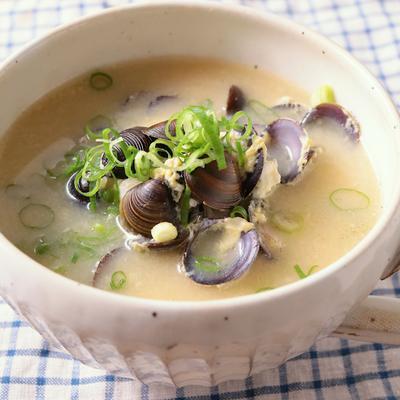 しじみの中華風スープ