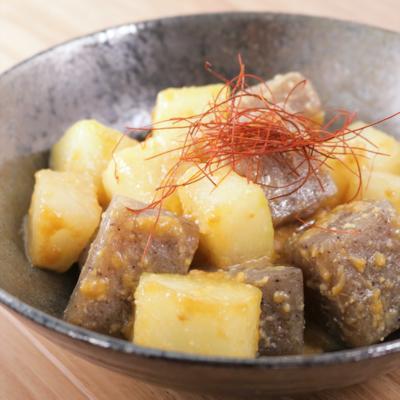 冬瓜とこんにゃくの味噌炒め