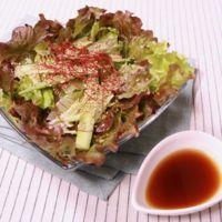 シンプルだけど美味しいサニーレタスの中華風サラダ