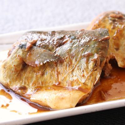 レンジで簡単 さばの八丁味噌煮