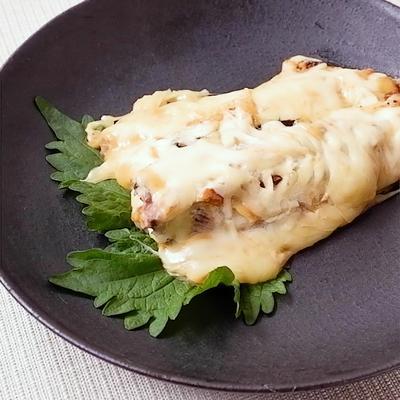 ほっけの味噌マヨチーズ焼き