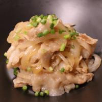 豚肉と玉ねぎのガーリック炒め