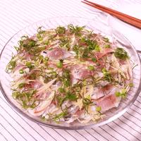 アジの酢じめで香味ちらし寿司