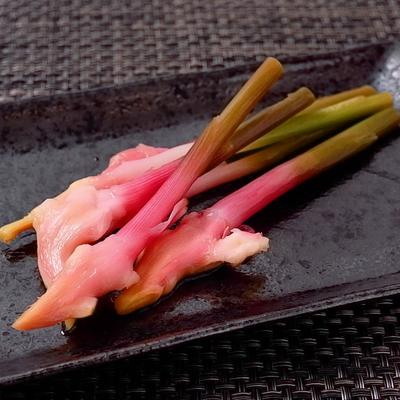 葉生姜で作るはじかみ