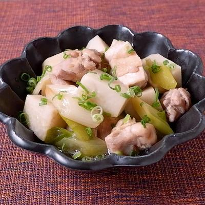 里芋と鶏もも肉のオイスターソース煮