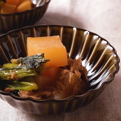 大根とツナの簡単煮物