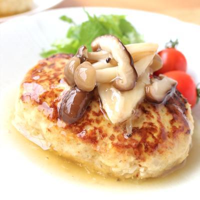 豆腐のふわふわ 和風ハンバーグ
