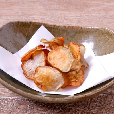 レンジで簡単 菊芋チップス