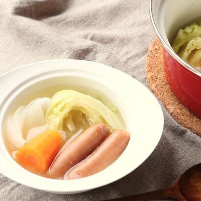 ゴロゴロ野菜の塩麹ポトフ