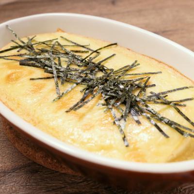 豆腐と長芋のチーズ焼き