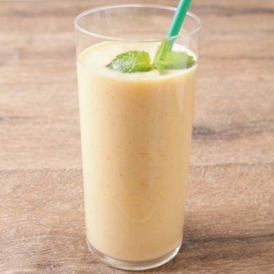 柿のミルクジュース