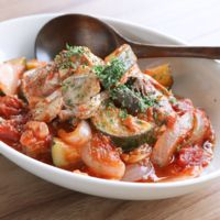 サバ缶で簡単 トマト煮