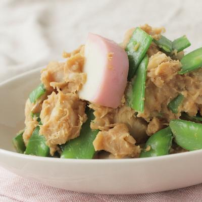 里芋とかまぼこの練りサラダ