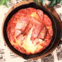 ベーコンと丸ごとモッツァレラチーズグリル