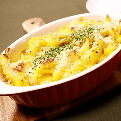 アメリカン!カボチャのマカロニチーズ