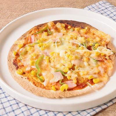 トルティーヤ生地で 簡単ピザ