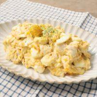 ツナとゆで卵の里芋ポテサラ