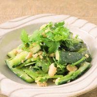 きゅうりとピーナッツの中華風サラダ