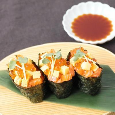 軍艦ちらし寿司