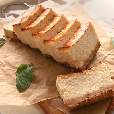 お豆腐とヨーグルトで あっさりチーズケーキ