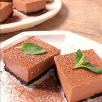 濃厚 ひとくちチョコレートレアチーズケーキ