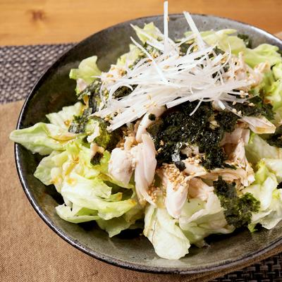 鶏ささみの簡単チョレギサラダ