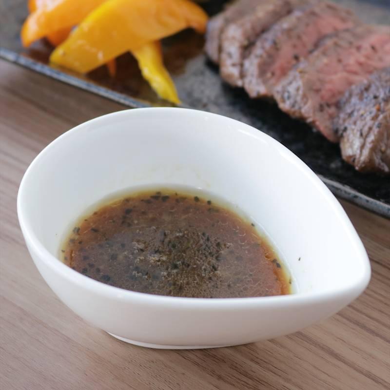 レシピ ステーキ ソース