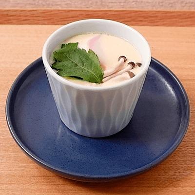 出汁からとる基本の茶碗蒸し