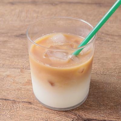 簡単カフェ風 2層アイスロイヤルミルクティー