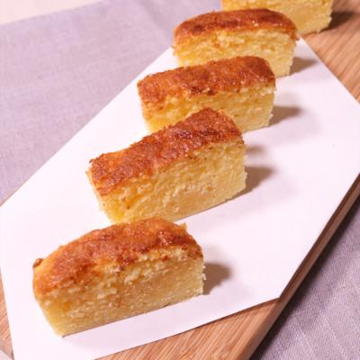 練乳でしっとり 優しい味わいのパウンドケーキ