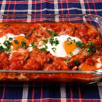 ブルガリア料理 チキンのカヴァルマ