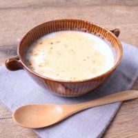 ポリ袋で簡単 さつまいものミルクスープ