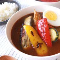 野菜たっぷりで簡単 スープカレー