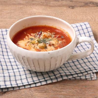 じゃがいものサルサ風スープ